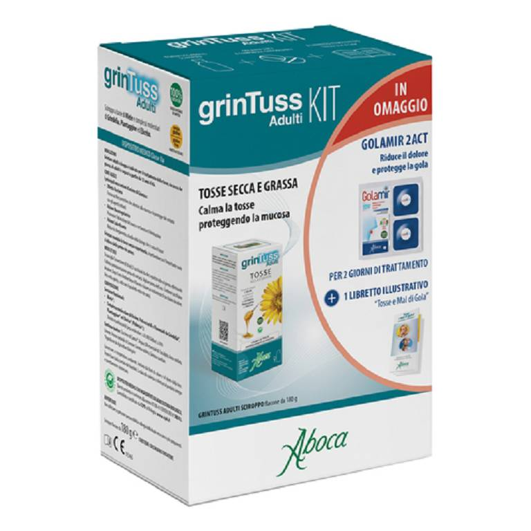 GRINTUSS ADULTI KIT SCIR+GOLAM